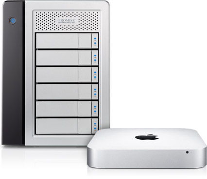 Mac mini Thunderboldt